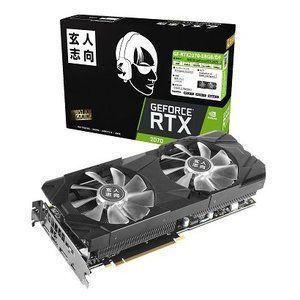 玄人志向 GF-RTX2070-E8GB/DF NVIDIA GEFORCE RTX 2070搭載 [PCI Express対応ビデオカード (8GB)]